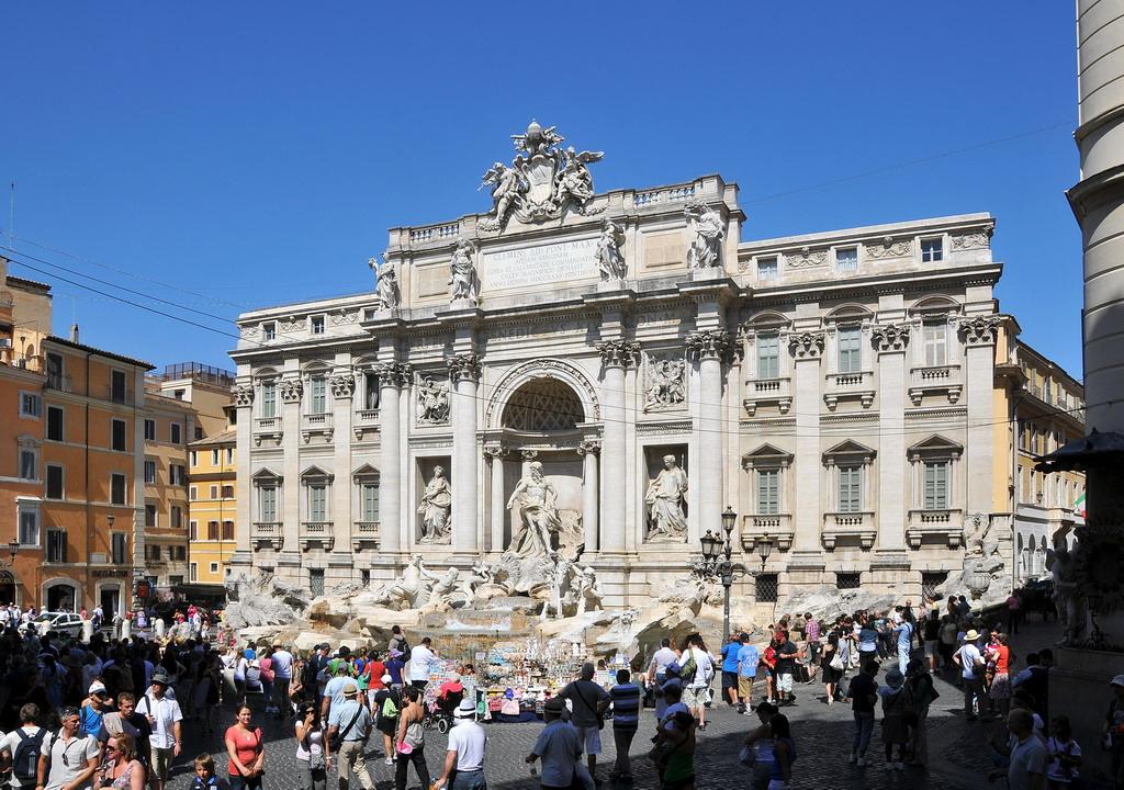 'Trevi Fontein' rondreis Rome