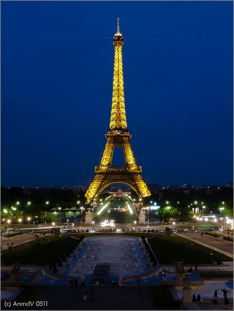 eiffeltoren rondreis parijs