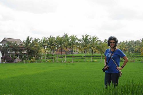 Bali landschap