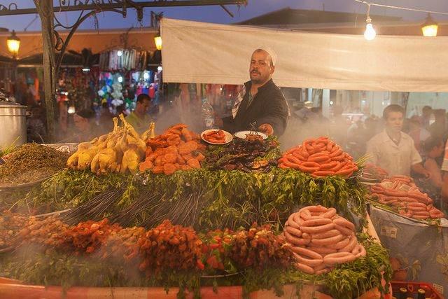 Marokko markt
