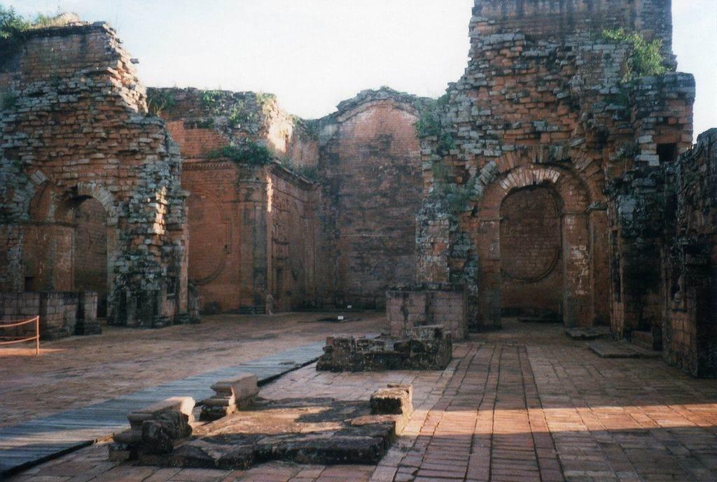 Ruines Paraguay