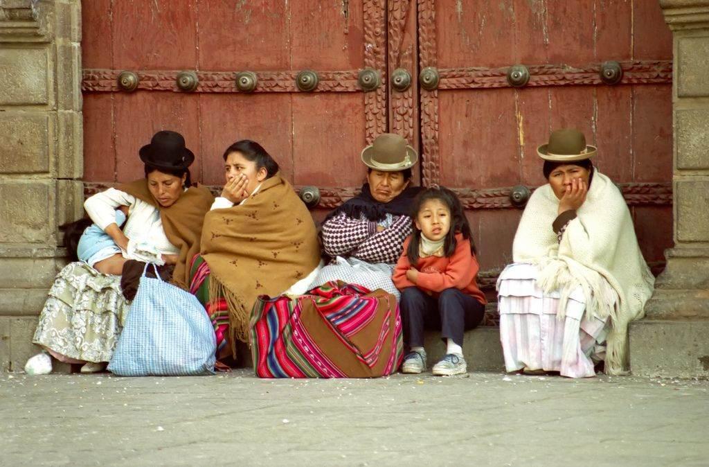 Mensen bolivia