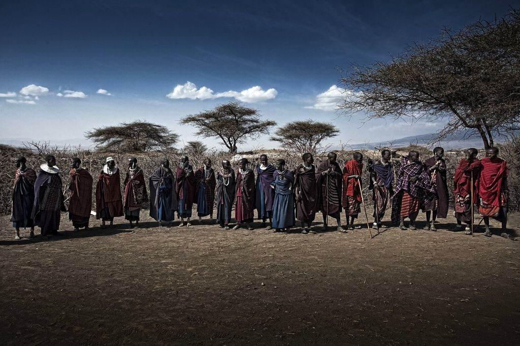 Masaï volk