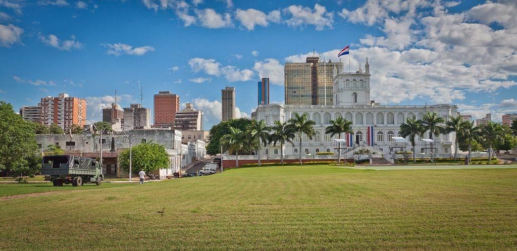 hoofdstad Asuncion