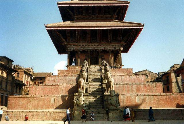 tempel in nepal