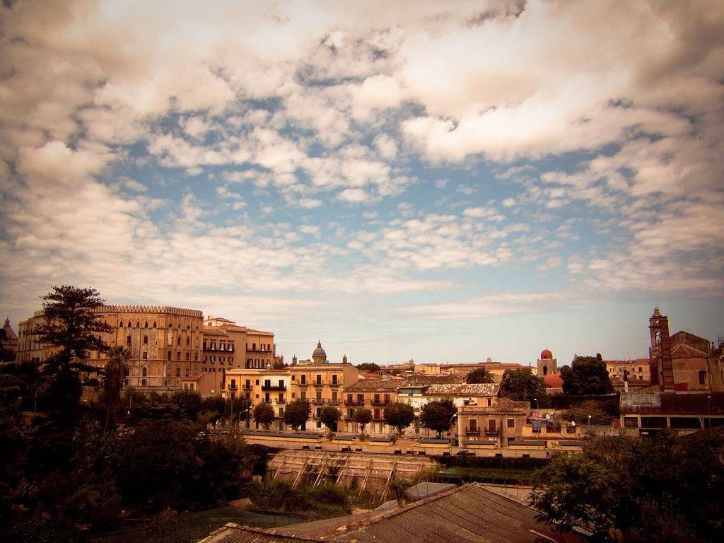 Stad Palermo in Zuid-Italie