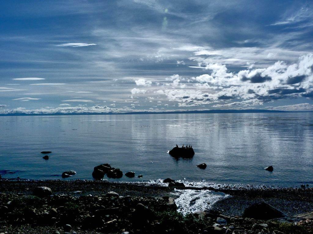 meer in patagonie
