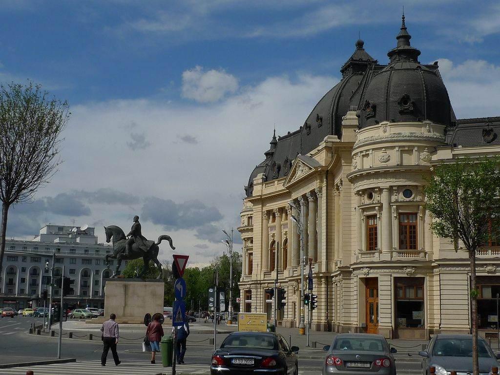 Boekarest hoofdstad van roemenie