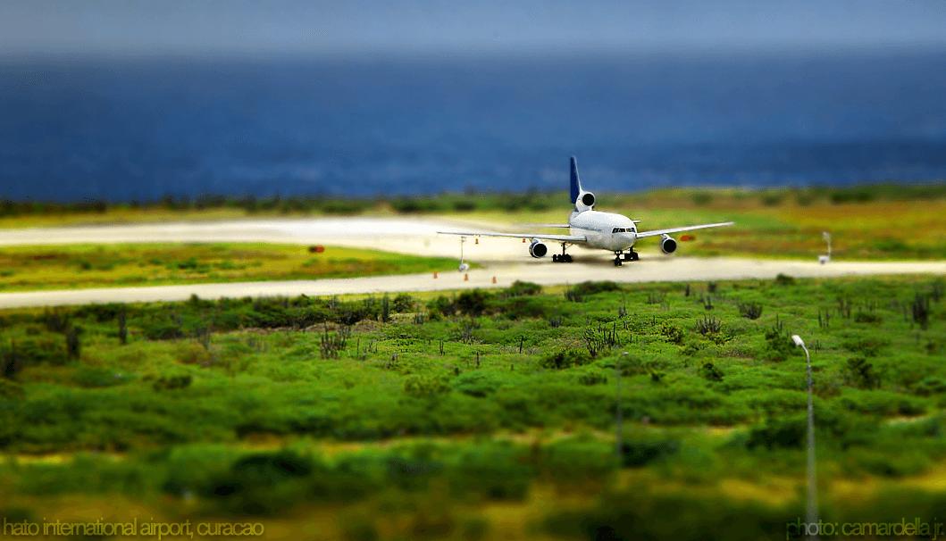 vliegveld curacao
