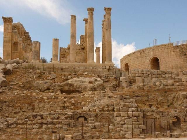 georganiseerde rondreis door Jordanië