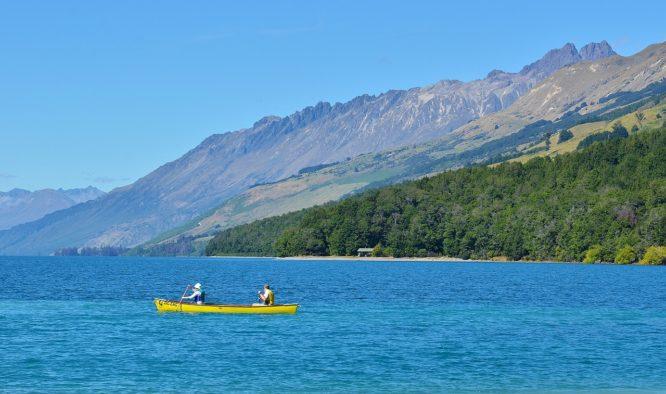 Te Urewera park Nieuw Zeeland