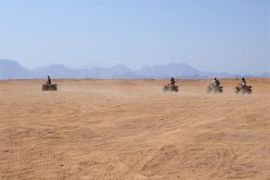 Woestijn activiteiten in Egypte