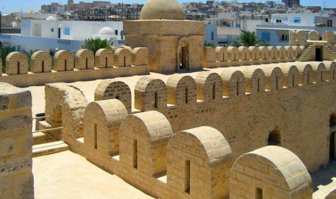 Steden en badplaatsen in het noordoosten van Tunesië