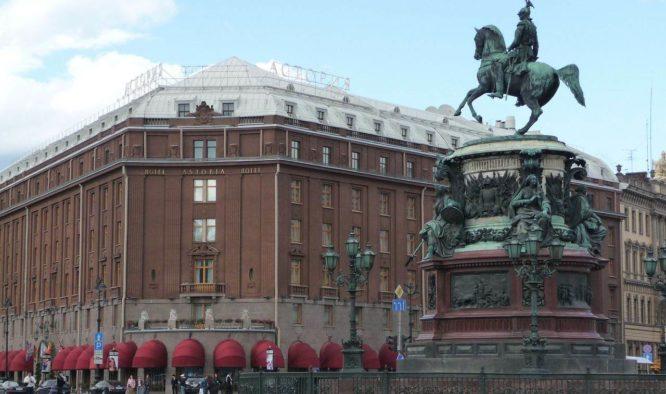 Ga shoppen tijdens een stedentrip St.Petersburg
