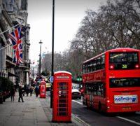 Met de auto naar Londen