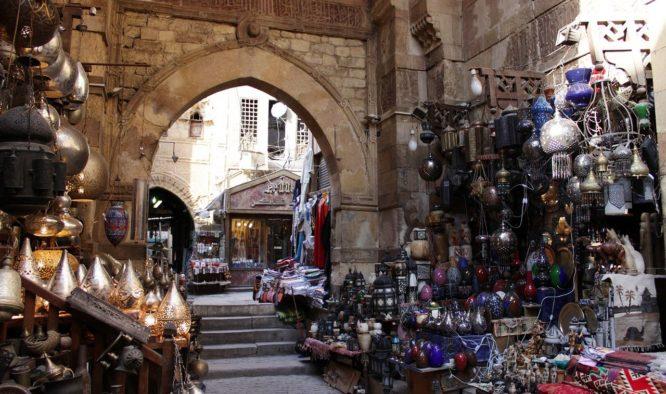 Cairo is één grote marktplaats