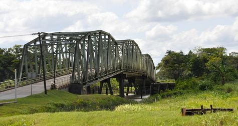 Dutch bridge in Suriname