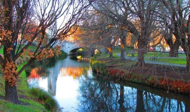 Vakantie Christchurch Nieuw-Zeeland