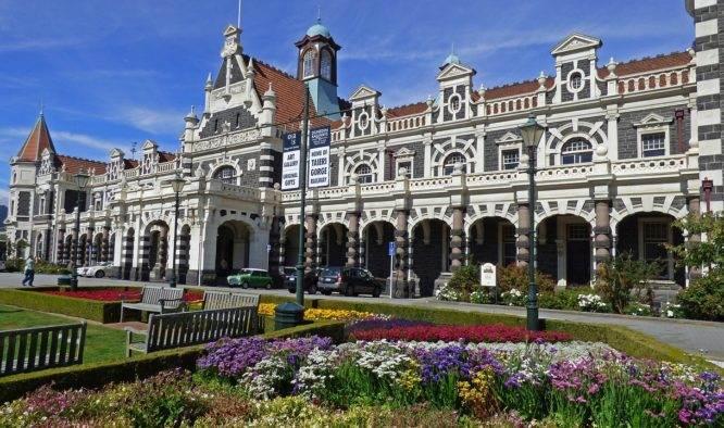 Dunedin de oudste stad van Nieuw-Zeeland