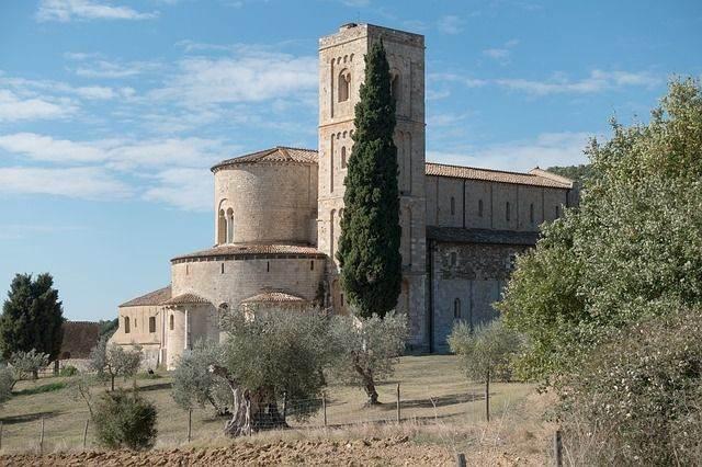 Montalcino in Toscane