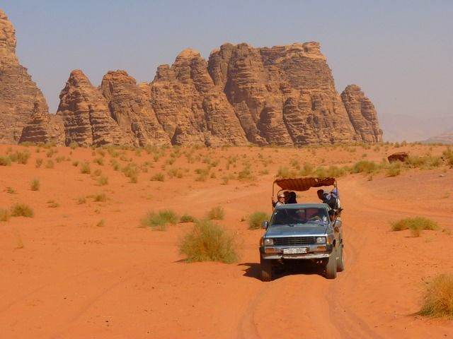 Een georganiseerde rondreis door Jordanië