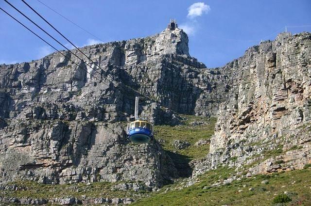 De Tafelberg in Zuid Afrika