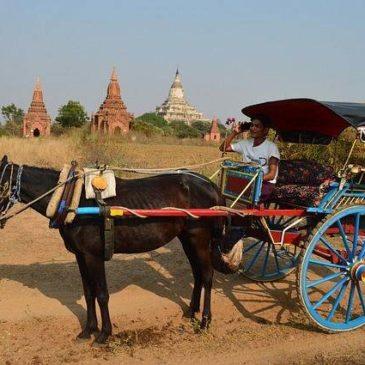 Uber taxi in Myanmar