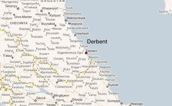 Vakantie Derbent