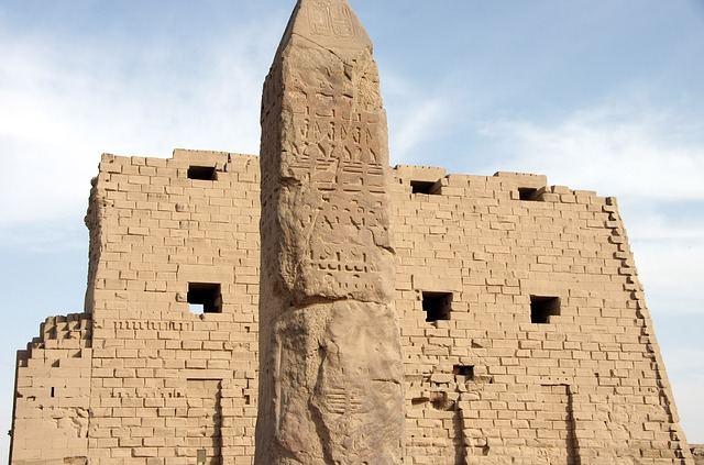 De tempel van Karnak