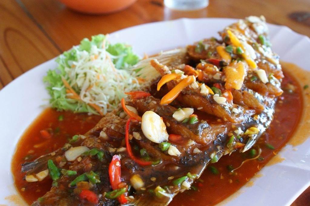 Het eten in Thailand