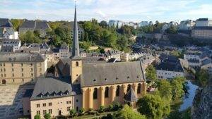 Stedentrip Luxemburg stad