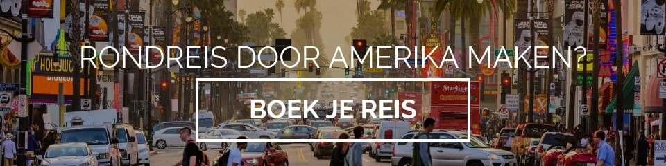 Amerika reizen boeken button