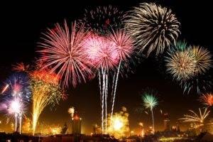Nieuwjaar vieren in Bangkok