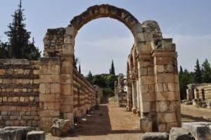 tempelcomplex in Baalbek