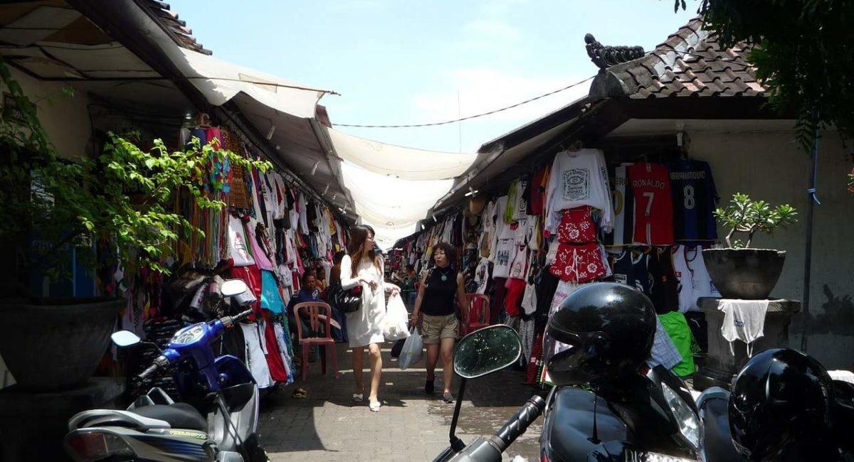 Shoppen in Bali