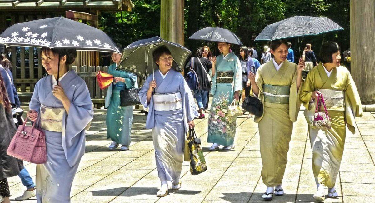 Mensen in Japan