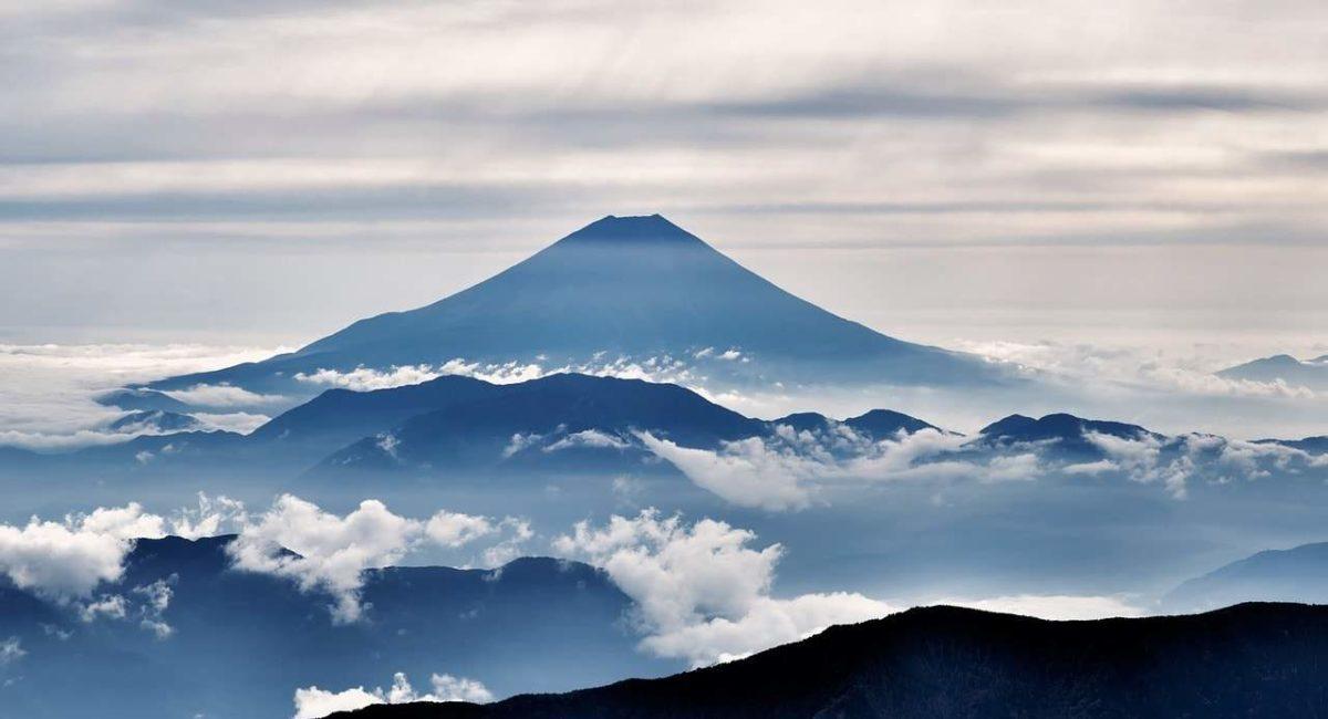 De berg Fuji Japan