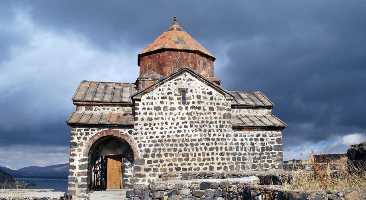 The Sevanavank monastery in Armenia-min