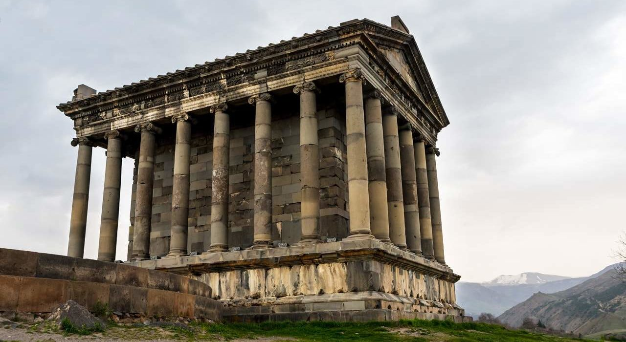 The Temple of Garni a Classical Hellenistic Temple(1)-min