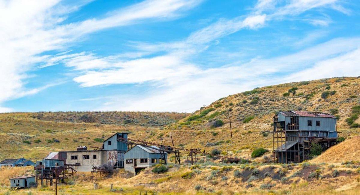 Goud zoeken in Bannack Montana