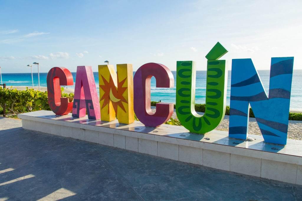 De stranden van Cancun