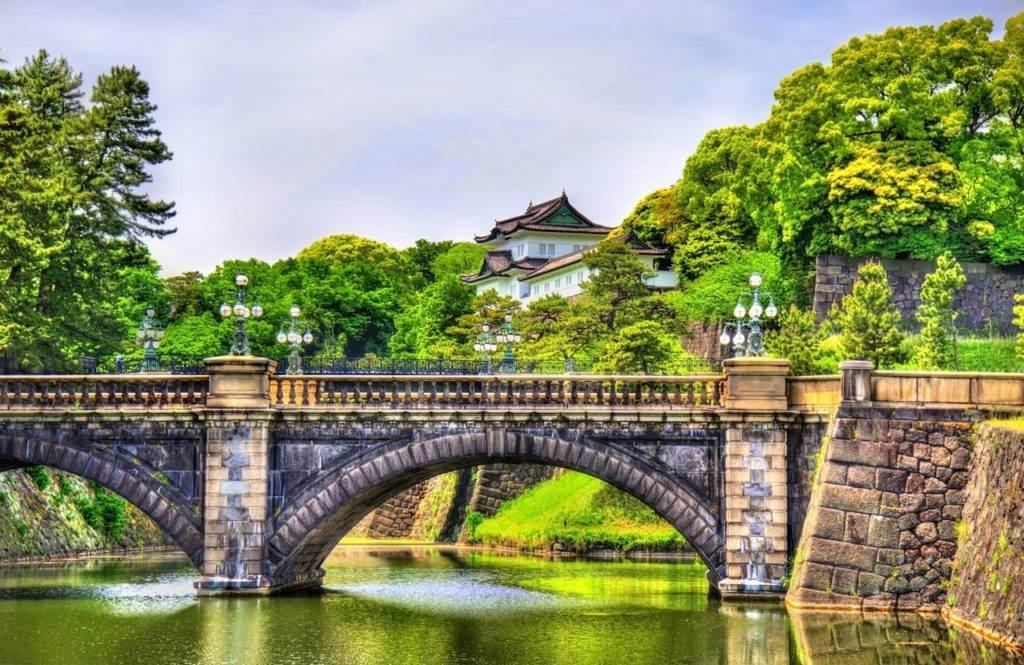 Steden en attracties op de kaart van Japan