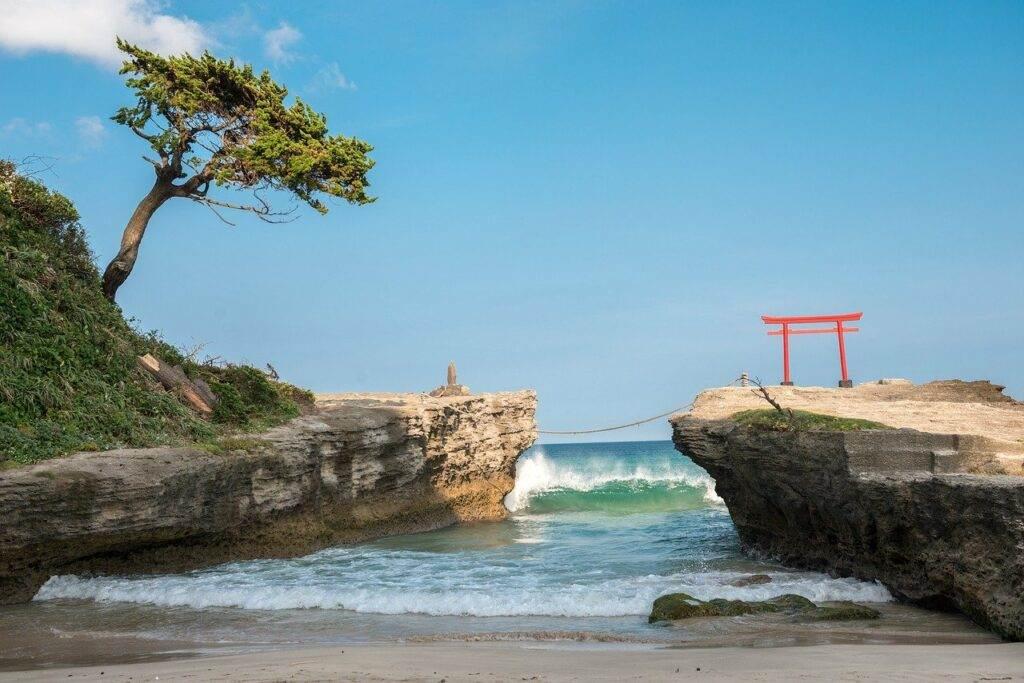 De hemelse stranden van Japan