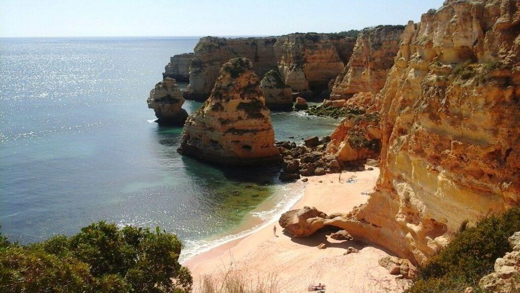 Code GEEL : De Algarve in Portugal