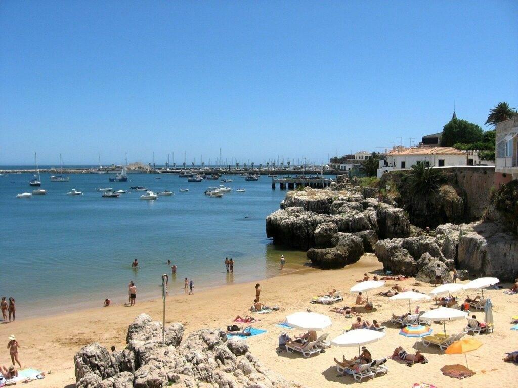 Lissabon aan de kust van Estoril